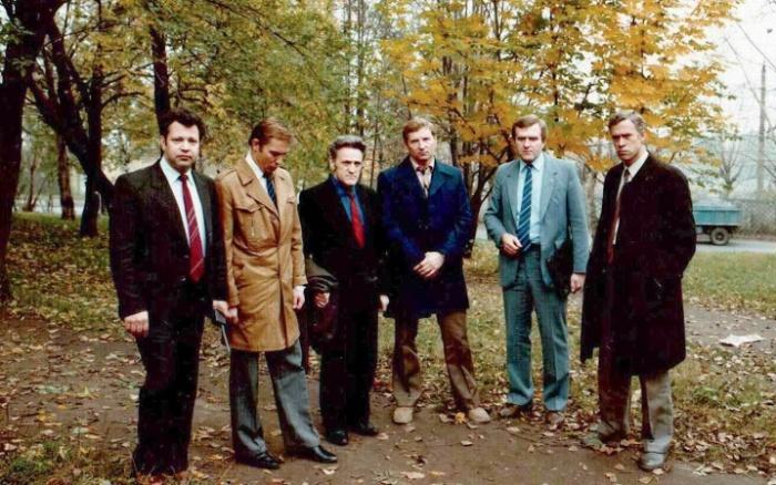 Адольф Толкачев (третий слева) / Источник: diletant.media