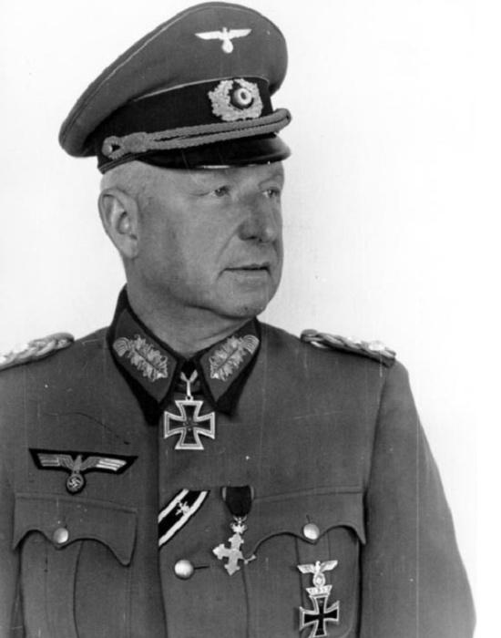 Генерал Эрих фон Манштейн, 1942 год / Фото: en.blitzkrieg.com
