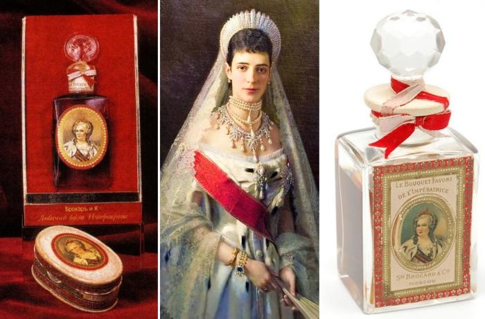 Мария Федоровна была в восторге от духов и разрешила дать им название «Любимый букет Императрицы»