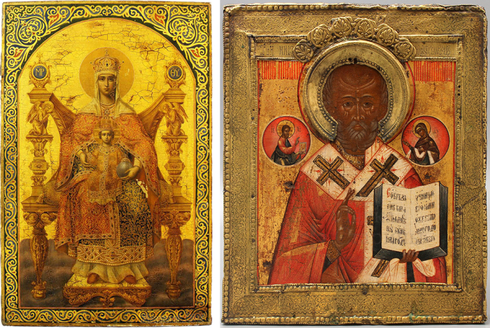 Иконы Палеха. / Фото: dvaveka.ru