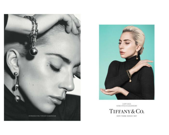 Леди Гага в кампейне от Tiffany & Co / Фото: vogue.ua