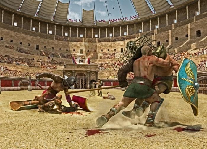 Сражения в Колизее отличались жестокостью и зрелищностью / Фото: history-thema.com