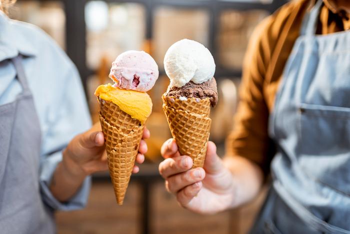 Мороженое с разными вкусами / Фото: https://gelato.in.ua