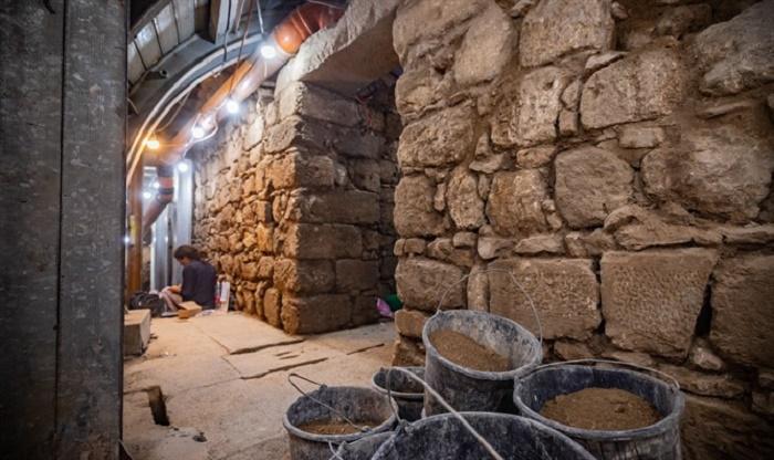 На раскопках дороги Понтия Пилата в Иерусалиме / Источник: grimnir74.livejournal.com