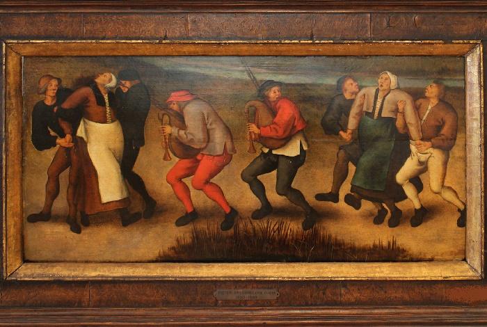 «Танец Святого Вита в Моленбеке». Картина Питера Брейгеля Младшего (1564/65 – 1637/38) / Фото: book-hall.ru