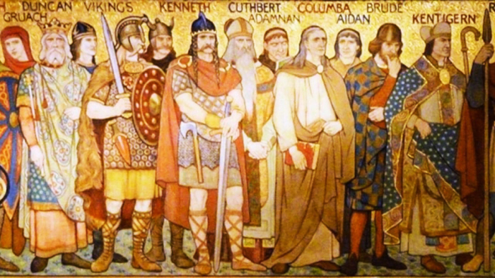 Король Дал Риады (Шотландии) Кеннет макАлпин / Фото: www.ancient-origins.net