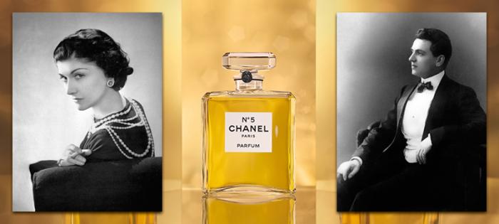 Известный парфюм Шанель №5. / Фото: southklad.ru