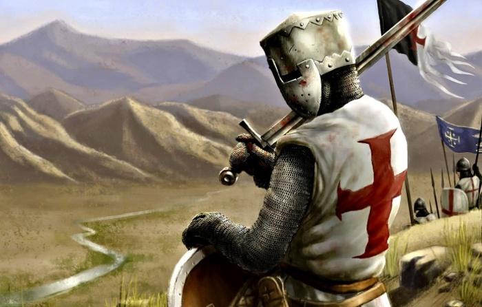 Крестоносцы были средневековыми наемниками / Источник: anime.goodfon.ru
