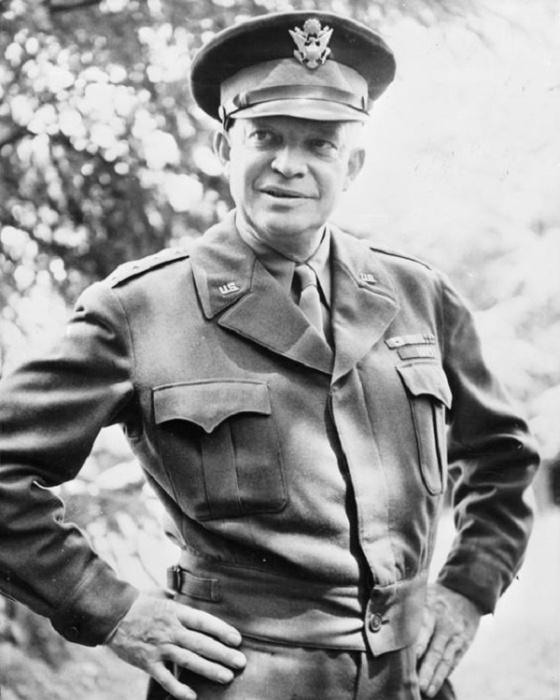 Генерал Дуайт Эйзенхауэр / Фото: iwm.org.uk