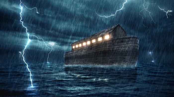 О библейском потопе говорится в легендах и мифах различных народов. / Фото:ua.depositphotos.com