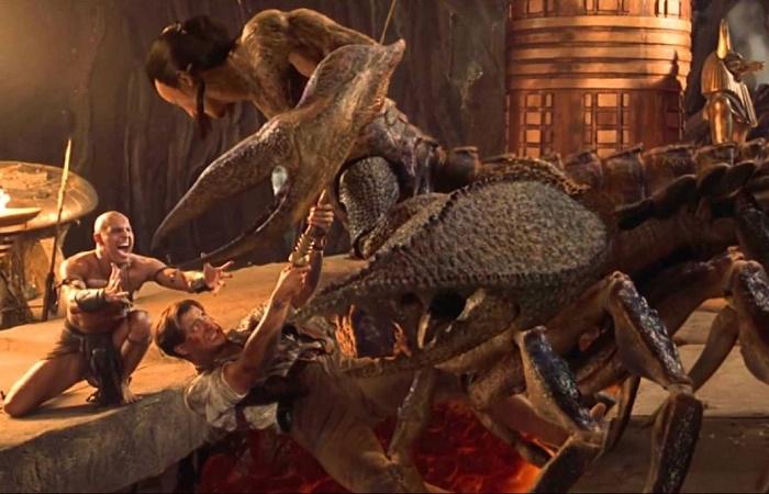 Царь Скорпионов у кинорежиссёров вышел весьма колоритным /Источник: world-archaeology.com