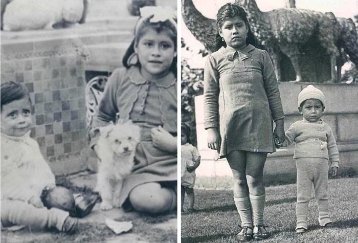 До десяти лет Херардо рос с уверенностью, что Лина его сестра
