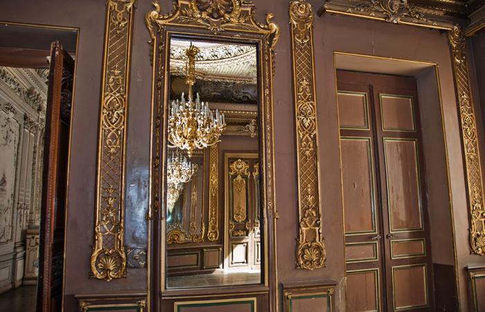 Зеркало в одном из залов особняка. / Фото: culture.ru