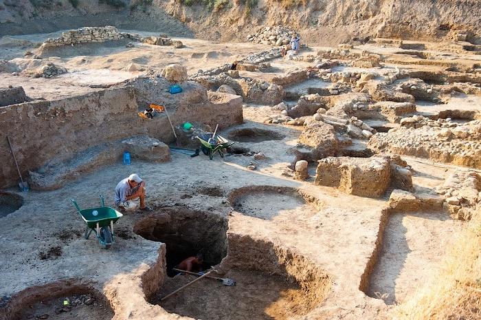 Раскопки в Дура-Европос, 2009 год / Источник: gaz.wiki