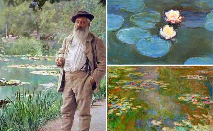 Последние 25 лет жизни Моне посвятил картинам с лилиями