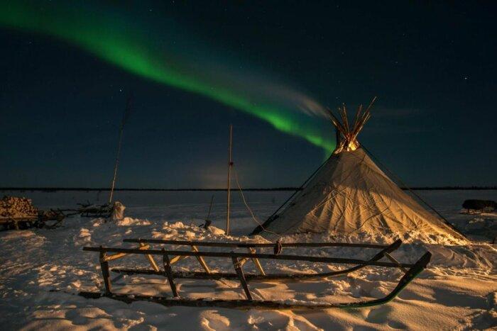 Сибирская полярная ночь / Фото: goarctic.ru