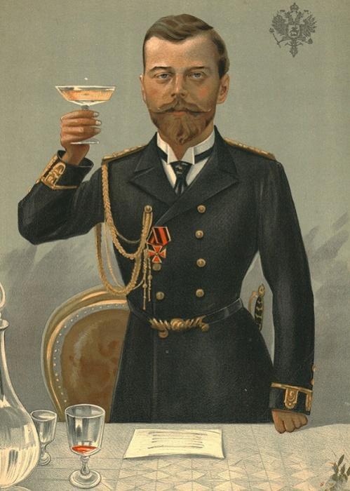 Царь-батюшка. Карикатура на Николая II в журнале Vanity Fair. 1897 год / Фото: bl.uk