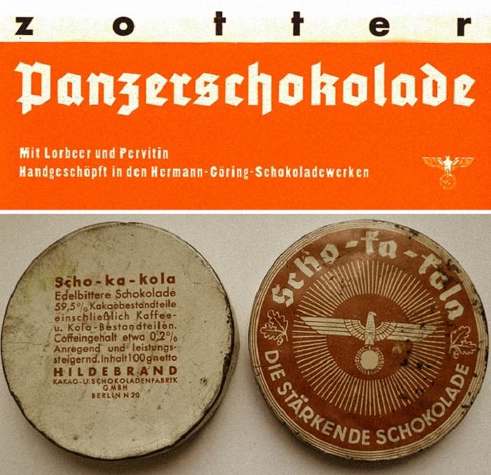 Немецкий танковый шоколад с первитином. / Фото: reddit.com