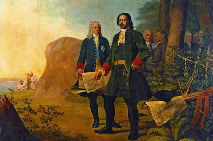 Петр I и адъютанты / Фото: saint-petersburg.com
