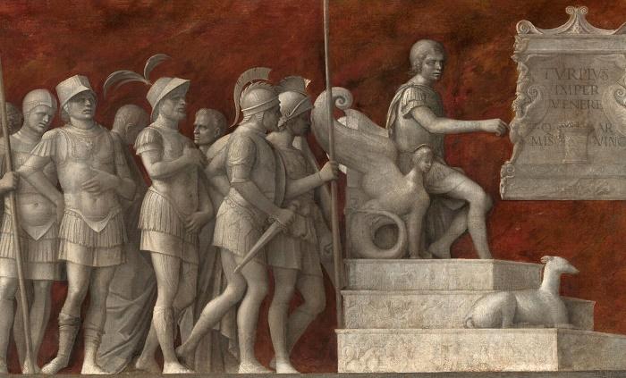 Эпизод из жизни Публия Корнелия Сципиона на картине Джованни Беллини, деталь, 1506–1516 годы / Фото: pl.pinterest.com