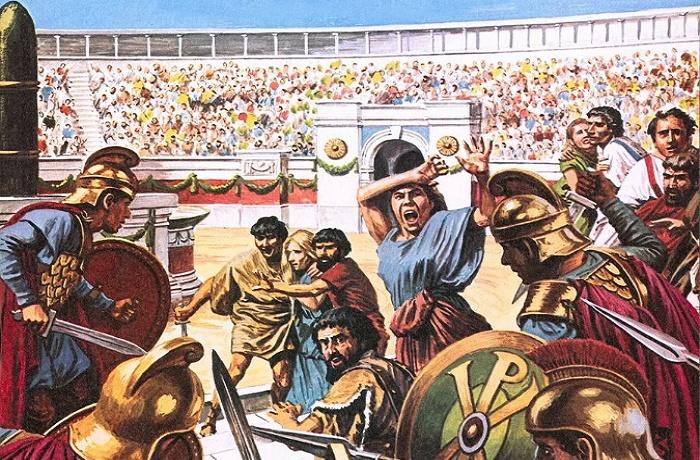 Император Юстиниан жестоко расправился с распоясавшимися «партиями ипподромов» / Фото: sciencephoto.com