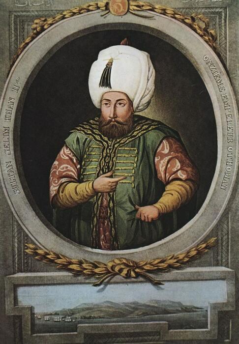 Султан Османской империи Селим II / Фото: alchetron.com