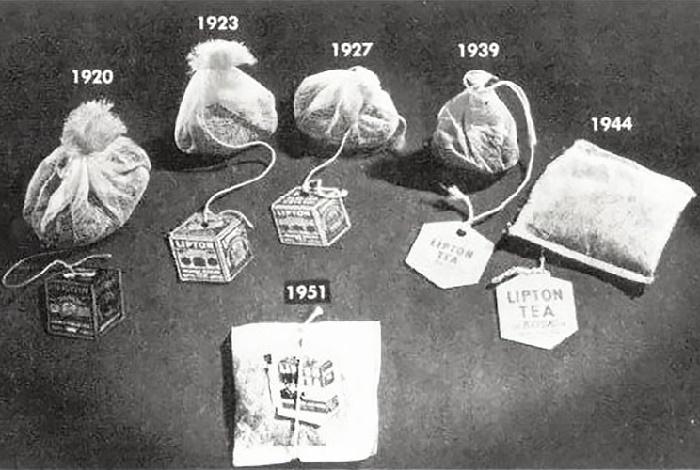 Эволюция чайных пакетиков Lipton / Фото: ibtimes.co.uk