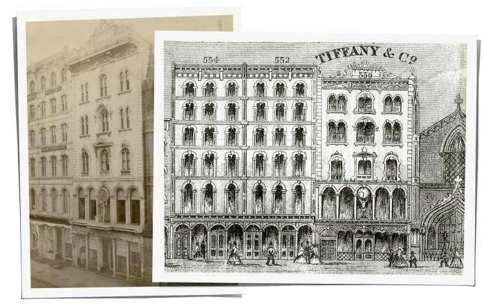 Экстерьер первой лавки Tiffany & Young на Бродвее / Фото: www.tiffany.ru