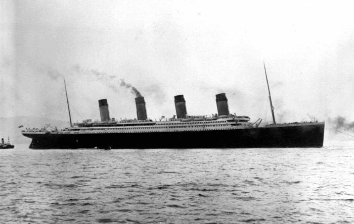 Британский пассажирский лайнер «Титаник» отплывает из Саутгемптона, Англия / Фото: bigpicture.ru