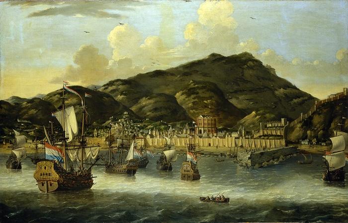 Бухта города Триполи, 1812 год / Фото: hughvincent.com