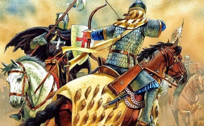 Воин Золотой Орды против литовского рыцаря / Фото: worldhistory.org