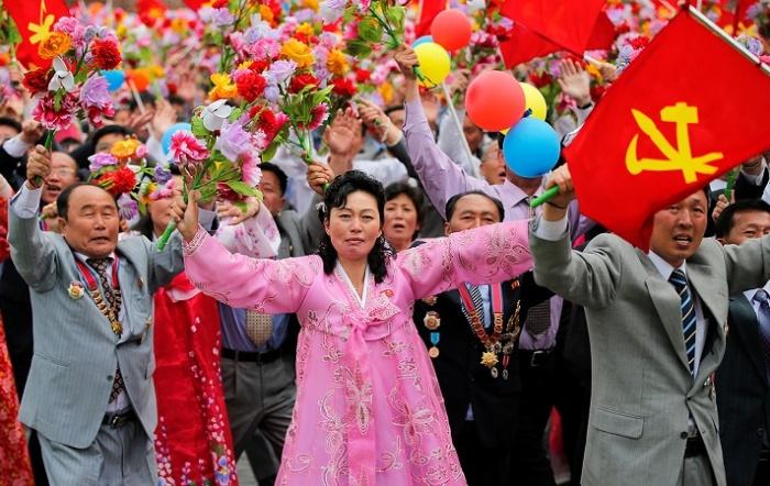 Парад в Пхеньяне / Источник: dw.com