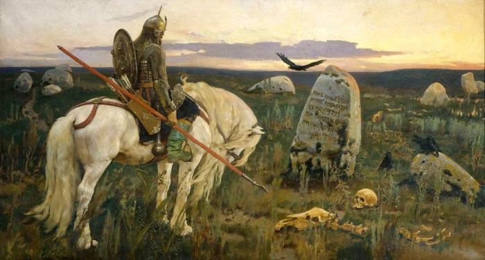 В. Васнецов «Витязь на Распутье», 1882 / Фото: rushist.com