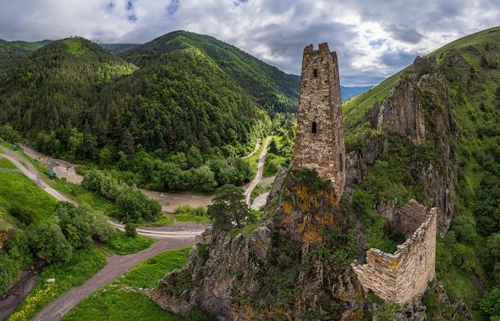 Сторожевая башня в Ингушетии / Фото: reddit.com