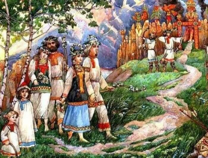 Язычники хранили обряды и передавали их из поколенья в поколенье / Фото: chtomnepodarit.ru