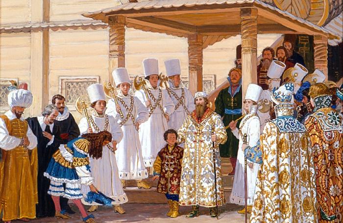 Рынды были почетным караулом у московских царей / Фото: privatemuseums.ru