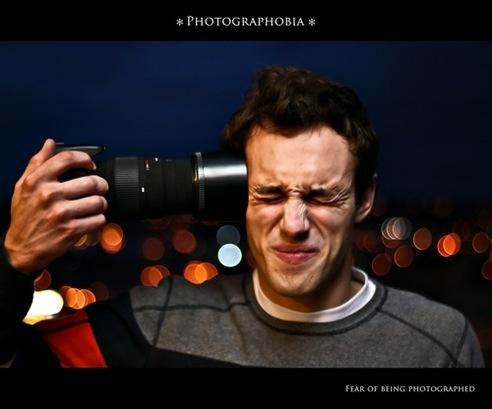 Страх быть сфотографированным