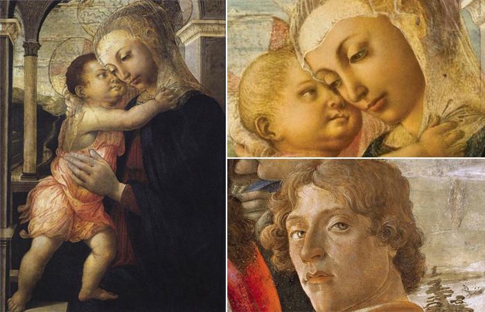 Сандро Боттичелли, Мадонна делла Лоджия (ок. 1467; темпера на панели, 72 х 50 см; Флоренция, Галерея Уффици)