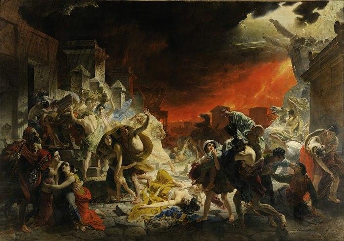 Википедия Последний день Помпеи