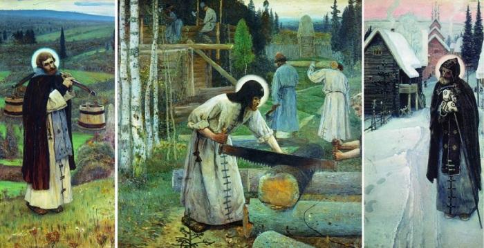 Работы о Сергии Радонежском