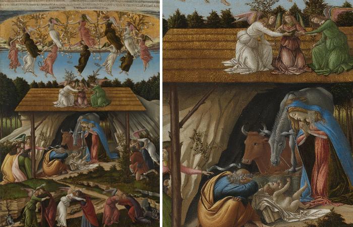 Боттичелли «Рождение Христа», 1500 год