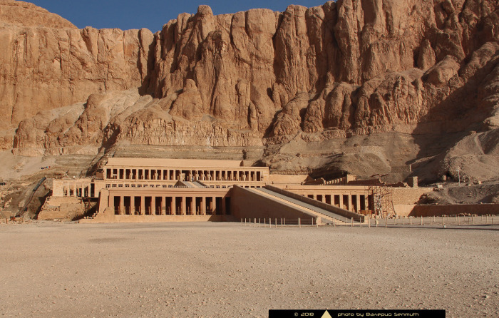 Джесер-Джесеру - храм Хатшепсут