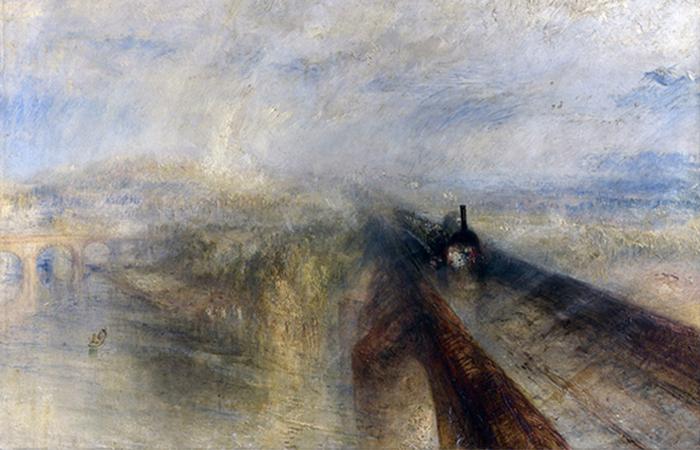 """""""Дождь, пар и скорость""""/ Фото: nationalgallery.org.uk"""