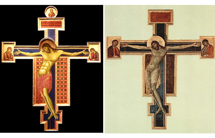 Расписной крест Сан-Доменико / Расписной крест Санта-Кроче