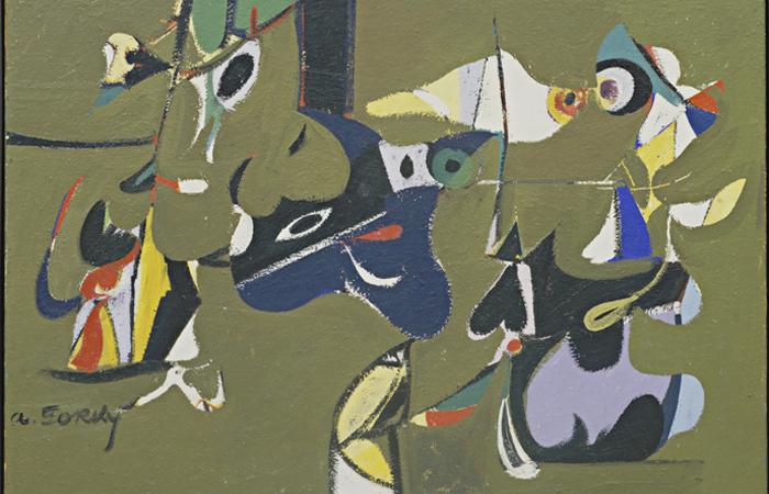 Аршил Горки «Сад в Сочи» (1941) / фото: artdoart.com