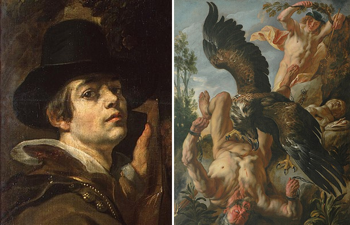 """Якоб Йорданс и его """"Прометей прикованный"""", ок. 1640"""
