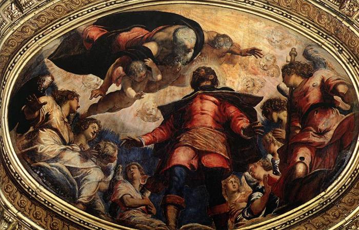 «Св. Рох во славе». Якопо Тинторетто. 1564 / Фото: desharel.blogspot.com