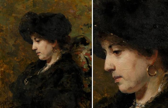«Портрет Юлии Маковской» Ильи Репина (1881)