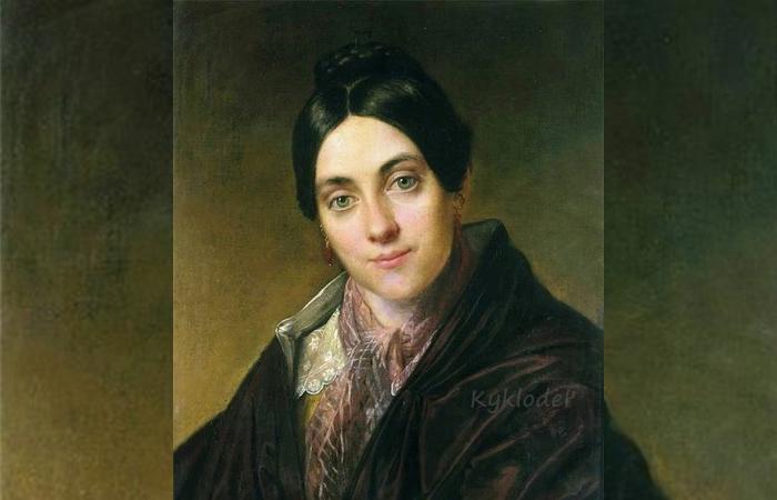 В.А.Тропинин «Портрет Л.К.Маковской» (1830)