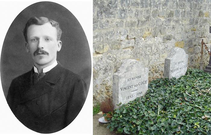 Тео ван Гог / Могилы Винсента и Тео ван Гога на кладбище Овер-сюр-Уаз